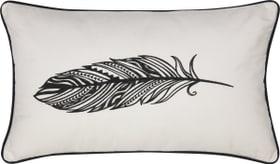 FEODORA Coussin décoratif 450721240310 Couleur Blanc Dimensions L: 30.0 cm x H: 50.0 cm Photo no. 1