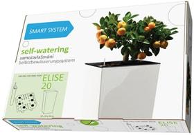 Smart System Elise Plastkon 657558600020 Taglio L: 20.0 cm x L: 20.0 cm x A: 39.0 cm Colore Antracite N. figura 1