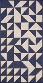 FENIX Tapis 412017108040 Couleur bleu Dimensions L: 80.0 cm x P: 150.0 cm Dimensions L: 80.0 cm x P: 150.0 cm Photo no. 1