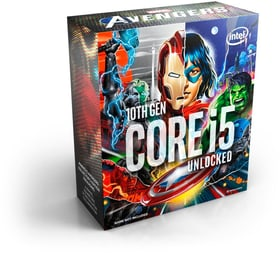 CPU Core i5-10600K Marvel Edition 4.1 GHz Prozessor Intel 785300155329 Bild Nr. 1