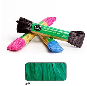 Rafia mat I AM CREATIVE 665524700050 Colore Verde N. figura 1