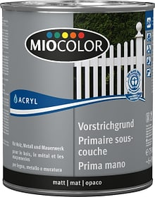 Acryl Vorstrichgrund Weiss 750 ml Miocolor 660562300000 Farbe Weiss Inhalt 750.0 ml Bild Nr. 1