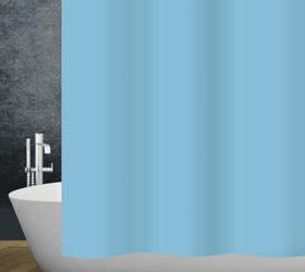 Duschvorhang Claro diaqua 674095300000 Farbe Hellblau Grösse 180 X 200 CM Bild Nr. 1