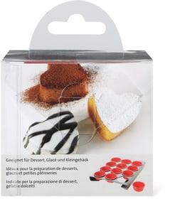 Silikonförmchen Herz Cucina & Tavola 703946200000 Bild Nr. 1