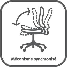 Mécanisme synchronisé