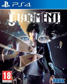 PS4 - Judgment F Box 785300144100 Photo no. 1
