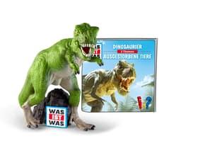 Tonies Hörbuch WAS IST WAS - Dinosaurier/Ausgestorbene Tiere (DE) Hörbuch 747318400000 N. figura 1