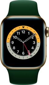 Watch Series 6 LTE 40mm Gold Stainless Steel Cyprus Green Sport Band Smartwatch Apple 785300155486 Bild Nr. 1