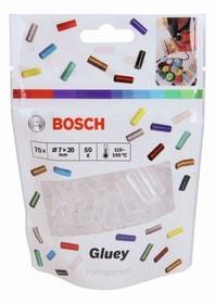 Gluey transparent, 70 Stück Heissklebe-Sticks Bosch 616241500000 Bild Nr. 1