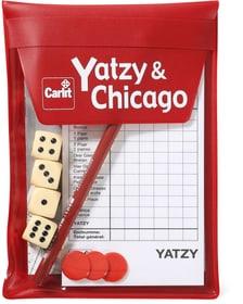 Reise Yatzy + Chicago 2015 Gesellschaftsspiel Carlit 744980700000 Bild Nr. 1