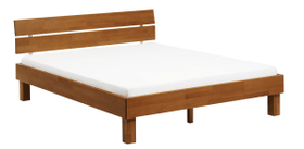 WOODLINE Bett HASENA 403238500000 Grösse B: 180.0 cm x T: 220.0 cm Farbe Buche kirschbaumfarbig Bild Nr. 1