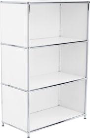 FLEXCUBE Buffet alto 401893900000 Dimensioni L: 77.0 cm x P: 40.0 cm x A: 118.0 cm Colore Bianco N. figura 1