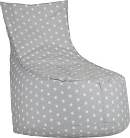 NEL Kindersitzsack 404722100080 Grösse B: 60.0 cm x T: 50.0 cm x H: 80.0 cm Farbe Grau Bild Nr. 1