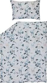 BAMBI Garnitura da letto in raso 451313814440 Colore Blu Dimensioni L: 160.0 cm x A: 210.0 cm N. figura 1