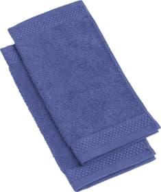 NEVA Lavettes à 2 piéces 450849720143 Couleur Bleu foncé Dimensions L: 30.0 cm x H: 30.0 cm Photo no. 1