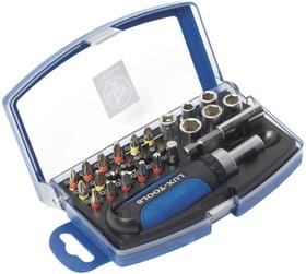 Jeu de 26 douilles et embouts Classic Jeu clés a douille Lux 601087200000 Photo no. 1