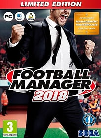 PC - Football Manager 2018 Limited Edition E