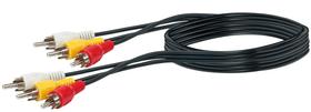 Cable cinch video 1,5 m Câble audio Schwaiger 613182000000 Photo no. 1