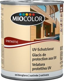 UV-Schutzlasur Farblos 750 ml UV-Schutzlasur Miocolor 661128400000 Farbe Farblos Inhalt 750.0 ml Bild Nr. 1