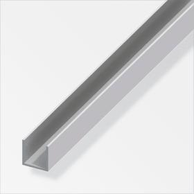 U-Profilo 8 x 10 mm argento 2 m alfer 605086200000 N. figura 1