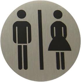 Placca alu donna/uomo Enseigne de porte Alpertec 614103200000 N. figura 1