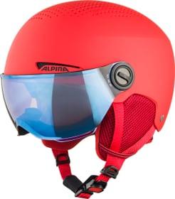 ZUPO VISOR Casque de sports d'hiver Alpina 494991350230 Taille 48-52 Couleur rouge Photo no. 1