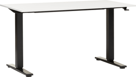 FLEXCUBE ECCO Table réglable en hauteur 401909200000 Dimensions L: 160.0 cm x P: 80.0 cm x H: 73.0 cm Couleur Blanc Photo no. 1