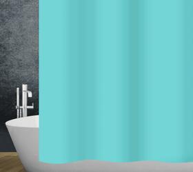 Duschvorhang pacific diaqua 674083500000 Farbe Ozeanblau Grösse 240x180 cm Bild Nr. 1