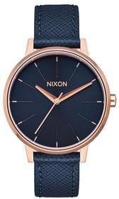 Kensington Leather Navy Rose Gold 37 mm Armbanduhr Nixon 785300137050 Bild Nr. 1