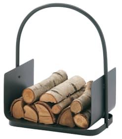 Corbeille à bois, Revêtement anthracite