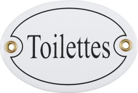 Emailschild Toilettes 605078400000 Bild Nr. 1