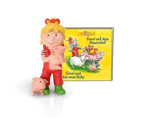 Tonies Hörbuch Conni - Conni auf dem Bauernhof/Conni und das neue Baby (DE) Hörbuch 747322000000 Photo no. 1