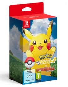 Pokémon: Let's Go, Pikachu! + Pokéball Plus Box Nintendo 785300137070 Photo no. 1