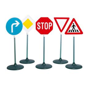 Traffic Signs 5pcs. Rollenspiel Theo Klein 743374200000 Bild Nr. 1