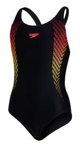 Plastisol Placement Muscleback Badeanzug Speedo 466829917620 Grösse 176 Farbe schwarz Bild-Nr. 1