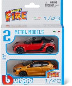 2pcs. Vehicle 1:43 Maquettes de voiture Burago 746217400000 Photo no. 1