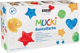 Mucki pittura bricol, 6 colori C.Kreul 665202700000 N. figura 1