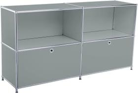 FLEXCUBE Sideboard 401814020280 Grösse B: 152.5 cm x T: 40.0 cm x H: 80.5 cm Farbe Grau Bild Nr. 1