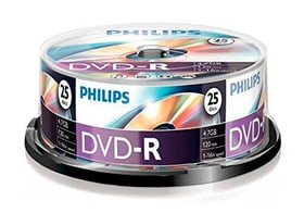 DVD-R 4.7 GB 25-Pack DVD vuoto Philips 787241600000 N. figura 1