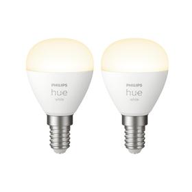 HUE white Tropfen 2x E14 2x LED E14 5.5W Philips hue 421089200000 Bild Nr. 1