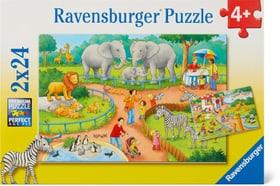 Un jour au zoo Puzzle Ravensburger 748975500000 Photo no. 1