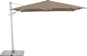 VARIOFLEX Ombrellone Suncomfort by Glatz 408045500000 Dimensioni L: 330.0 cm x P: 270.0 cm x A: 270.0 cm Colore Talpa N. figura 1