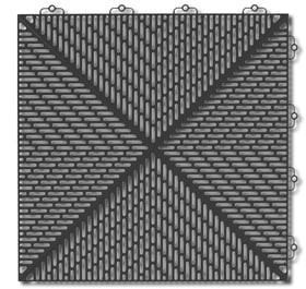 Unique 38 x 38 cm Piastrella in materia sintetica bergo 647120800000 Colore Antracite N. figura 1