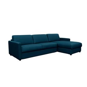 OPUS Canapé-lit 402940300000 Dimensions L: 262.0 cm x P: 204.0 cm x H: 82.0 cm Couleur Bleu Photo no. 1