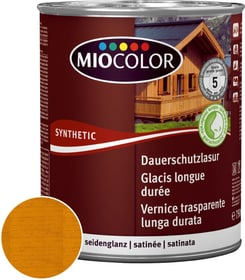 Vernice trasparente lunga durata Larice 750 ml Vernice trasparente lunga durata Miocolor 661121500000 Colore Larice Contenuto 750.0 ml N. figura 1