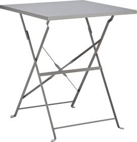 PAGAN Table pilante 408005700080 Dimensions L: 60.0 cm x P: 60.0 cm x H: 70.0 cm Couleur Gris Photo no. 1