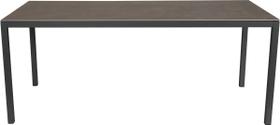 LOCARNO, Gestell Anthrazit, Platte Keramik Gartentisch 753193018073 Grösse L: 180.0 cm x B: 85.0 cm x H: 74.0 cm Farbe Beton Dunkel Bild Nr. 1