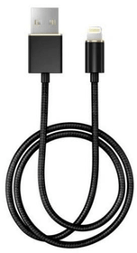 "Câble 1.0m, Lightning->USB  ""Matte black"" (schwarz) Câble iDeal of Sweden 785300148068 Photo no. 1"