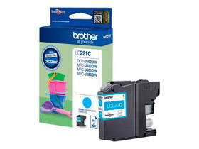 LC-221C  cyan Cartouche d'encre Brother 785300124046 Photo no. 1