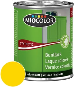 Synthetic Vernice colorata opaca Giallo navone 750 ml Miocolor 661438900000 Colore Giallo navone Contenuto 750.0 ml N. figura 1